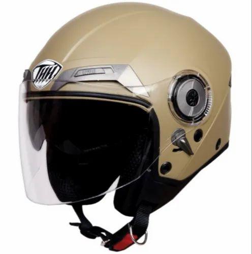 e52cf313 Super THH T-314 Plain Desert Storm - Matt Half Face Helmet - Tong ...