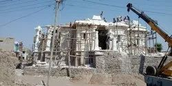 Industrial Projects 1 Year White Marble Temple Construction Service, in Bengaluru