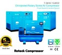 120 HP Direct Driven Screw Air Compressor With Air Dryer