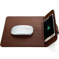 Mobile Stand With Wireless Charging Mouse Pad