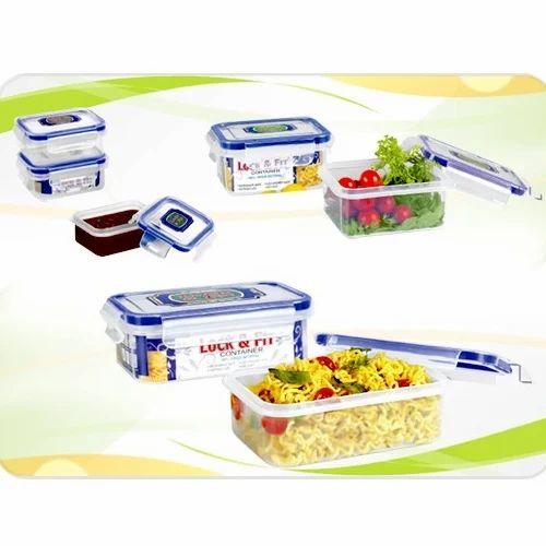278c4e4e6c2d Plastic Airtight Lunch Boxes