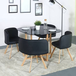 84fb8709f24 Modern Glass Dining Table
