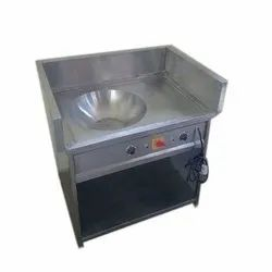 Stainless Steel Commercial Electric Kadai