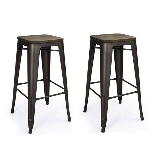Pleasing Metal Bar Stool Andrewgaddart Wooden Chair Designs For Living Room Andrewgaddartcom