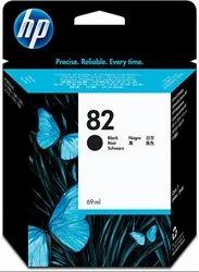 Hp 82 69 - Ml Black Disign Jet Ink Cartridge(CH565A)
