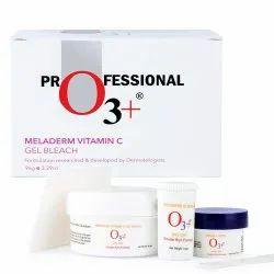 O3  Meladerm Vitamin C Gel Bleach For Skin Whitening And Hair Lightening (96g)
