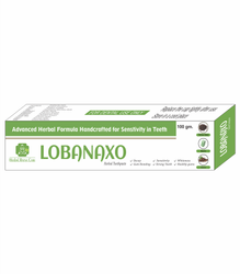 LOBANAXO TOOTHPASTE, Packaging Size: 100 Gm