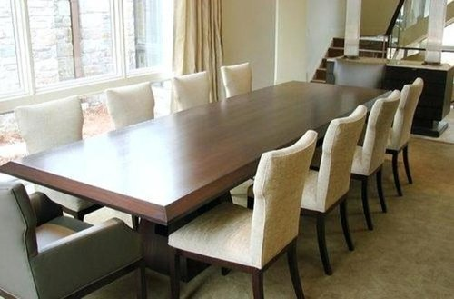 10 Seater Dining Table Set Wooden