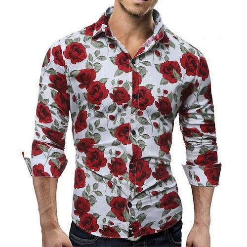 03c449ea45e5c8 Printed Mens Flower Shirt, Rs 450 /piece, Studio 7 Clothing Company ...