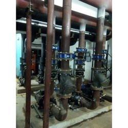 HVAC MS piping for AHU