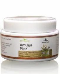 Herbal 30 gms Amulya Piles Ointment, For Personal, Packaging Type: Ayurvedic
