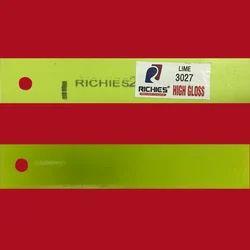 Lime High Gloss Edge Band Tape