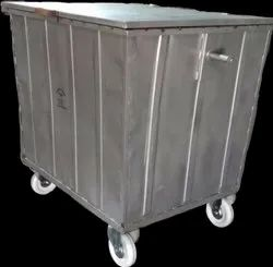 Metal Wheel Dustbin