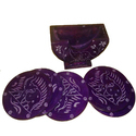Soapstone Colorful Coaster Set