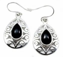 Black Onyx Earrings Jewelry