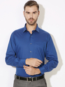 Blue Full Sleeve Formal Shirts