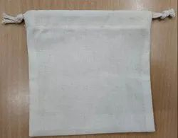 100% Organic Cotton Soap Bar Pouch Bag