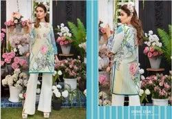 Pakistani Embroidery Kurti Fabric