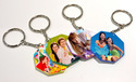 Sublimation MDF Key Chains for Customized Printing