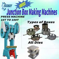 GI Fan Box Making Machine