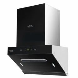 Wall Mounted Titania 60 Maxx -Auto Clean Hindware Chimney, Suction Capacity(m3/hr): 1350