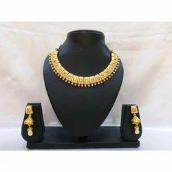Brass Traditional Jewelry Set