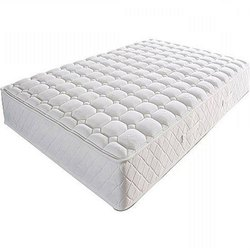 White Plain Spring Bed Mattress, Thickness: 6 Inch
