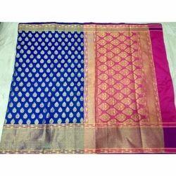 Fancy Silk Saree, Length: 6.3 m