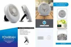 Powrfan 2 in 1 Portable Fan & Power Bank