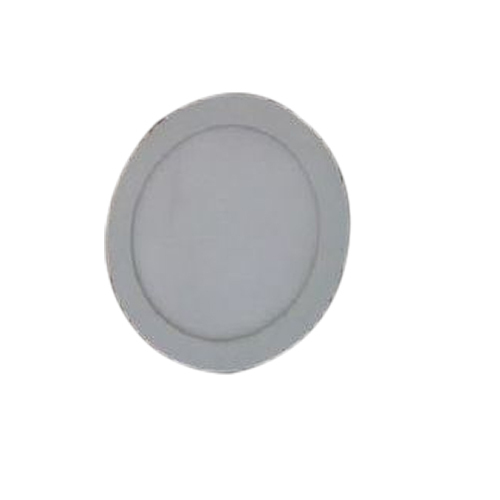 Ceramic Pure White Round Panel Light, IP Rating: IP55