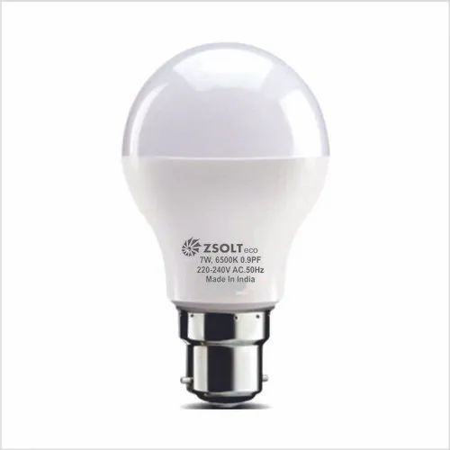 7 Watt Led Bulb Base B22 Cool Day Light