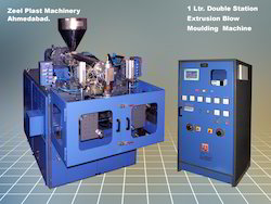 Double Station Blow Moulding Machine
