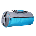 Sky Blue Gym Duffel Bag
