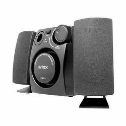 Black Intex Speakers