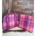 Digital Silk Fabric Handbag