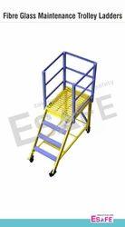 Standard Duty Maintenance Trolley Ladders