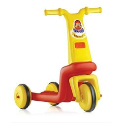 Yellow Plastic 2130 Speedo Kids Tricycle