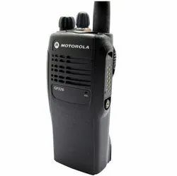 Black Motorola Analog Walkie Talkie