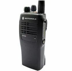Black Motorola Analog Walkie Talkie