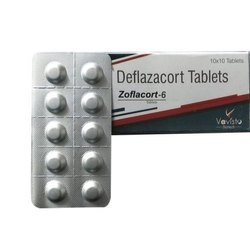 Vavisto Deflazacort Tablets, Packaging Size: 10x10 Tablets, Packaging Type: Alu-alu