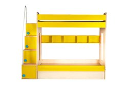 YiPi Flexi Bunk Bed Hydraulic Bed with Book Shelf