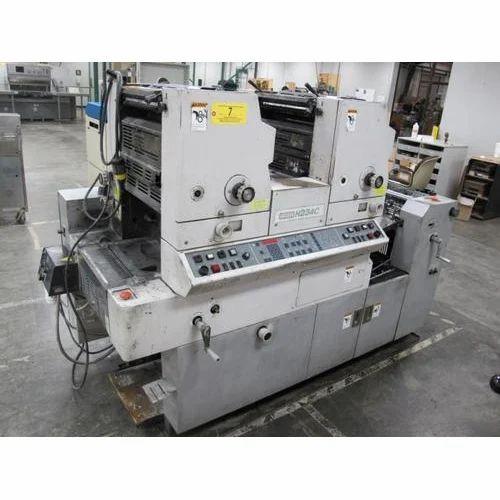 hamada 234 printing machine at rs 400000 unit rh indiamart com Hamada Offset Hamada 665 DW Manual