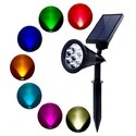 3W Color Changing Solar Garden Light