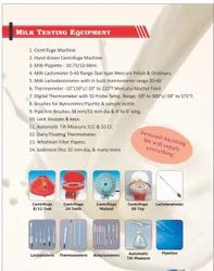 All Milk Testing Equipment