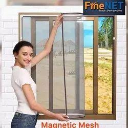 Fiberglass Magnetic Mesh Insect Screen Mesh, For Door,Window