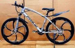 Silver Color 21 Gear MTB cycle