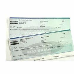 MICR Cheque Printing Service