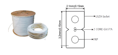 optical Fiber FTTH Cable