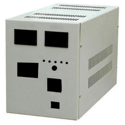 White Electrical Stabilizer Cabinet