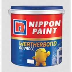 Soft Sheen Nippon Paint Weatherboard Advance Exterior Emulsion, Packaging Type: Bucket, Packaging Size: 20 Ltr